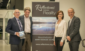 Dale Alcock, MD of ABN Group endorses Reflections Through Reality
