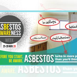 Asbestos Awareness Week 2020: Asbestos lurks…