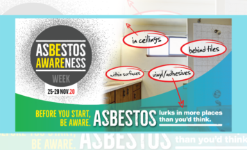 Asbestos Awareness Week 2020: Asbestos lurks…