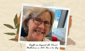 Brigitte shares of her diagnosis and how she rediscovered Hope